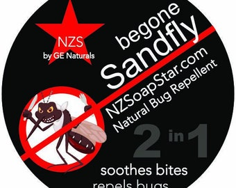 BeGone SANDFLY Bug & Mosquito Repellant.