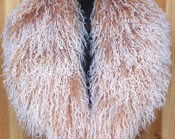 Real Monolian Wool Collar