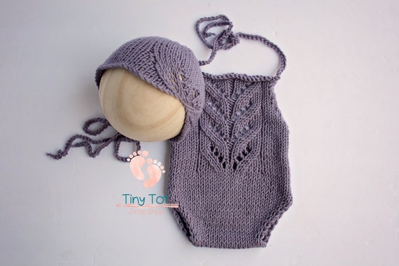 Gorgeous Hand Knit Romper