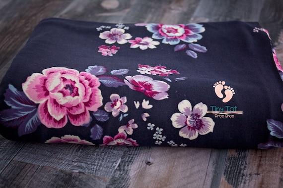 Floral Jersey Knit Wraps