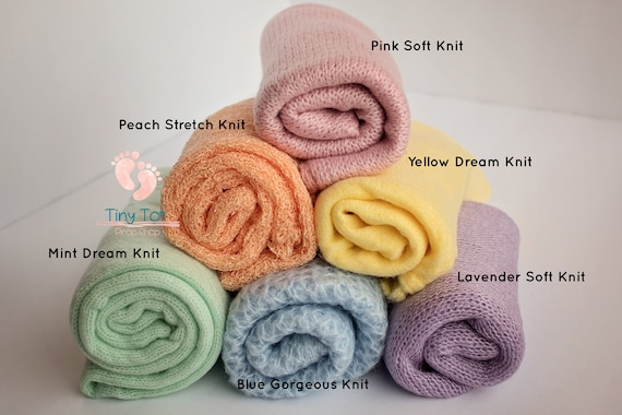 Pastel Knit Wrap Bundle