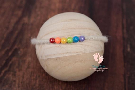 Rainbow Baby Tieback