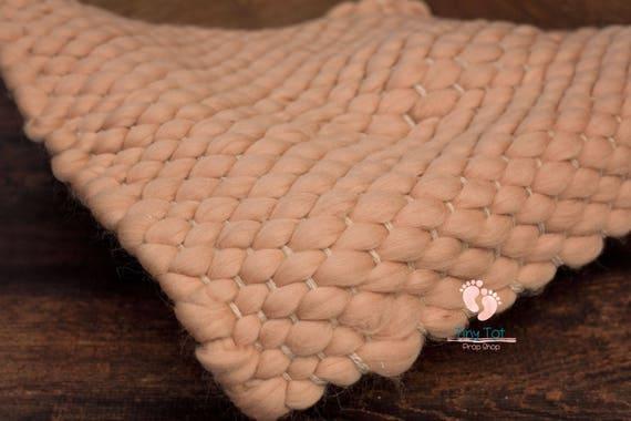 Caramel Merino Bump Blanket