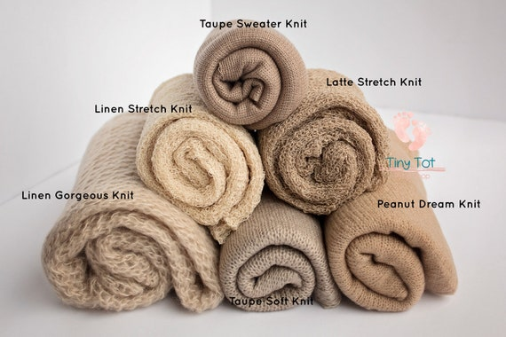 Neutral Knit Wrap Bundle