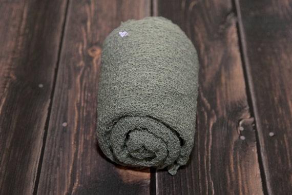 Artichoke Stretch Knit Wrap