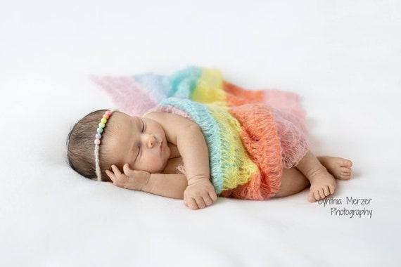 160 x 80cm Newborn Stretch Wrap Photography Headband Cover Props Baby Kids New