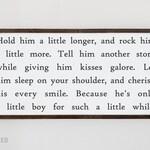 Hold Him A Little Longer sign   Rock Him A Little More   boys room decor   baby shower nursery gift