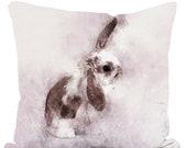 40cm Throw Cushion Daisy Lop-eared Bunny
