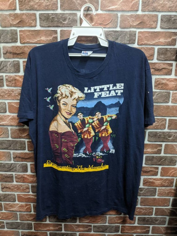 Vintage 90's Little Feat Rock Band Mambo T-Shirt