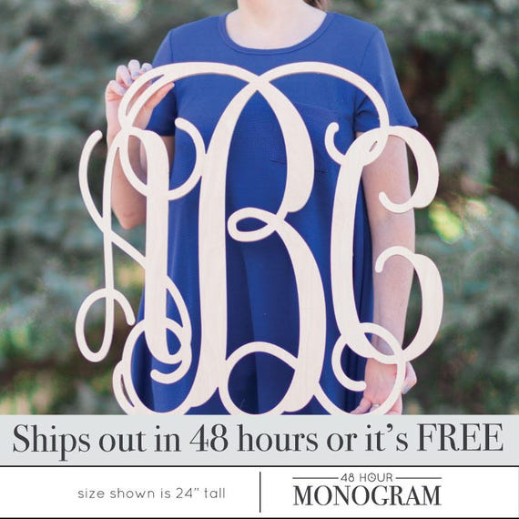 sale sale item large inch wooden monogram letters vine room decor nursery decor wooden monogram wood monogram wood letters