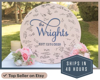 Wedding Guest Book Wood - Alternative Guest Book - Custom Wedding Guest Book - Wood Wedding Sign - Unique Guest Book - Wedding Decor