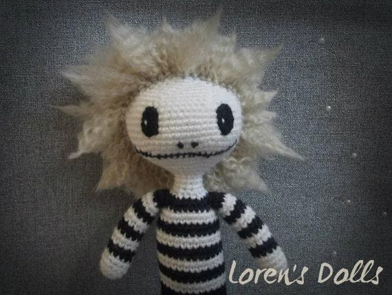 Brenvin Häkeln Voodoo Puppe Häkeln Puppe Portrait Puppe Etsy
