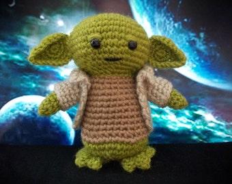 Plush Yoda Star Wars character Crochet Toy Yoda star wars yoda doll star wars Yoda toy Star Wars plush Yoda Jedi Will be made JUST for YOU