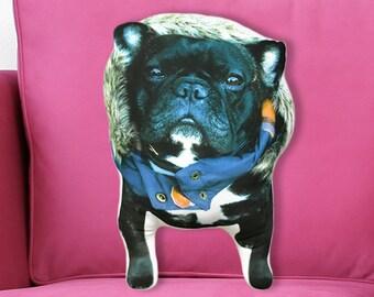 Custom dog pillow, decorative pillows, personalized gift, animal gift, dog lover gift, gift women, custom shaped dog pillow, memorial pillow