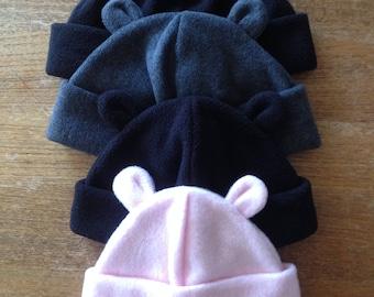 26a161a9dd9 Fleece Bear Ears hat
