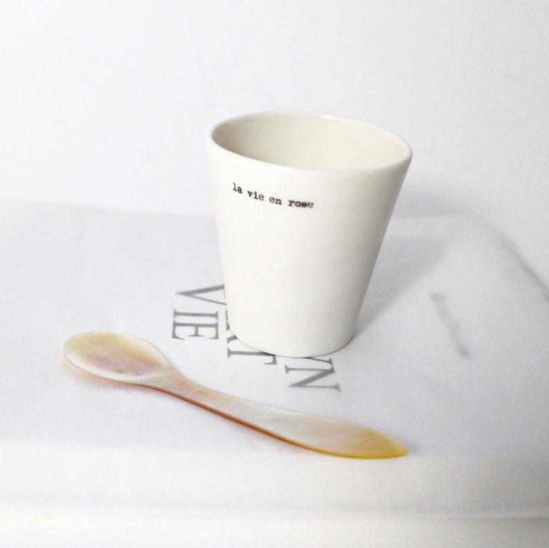 Espresso mug the vie en rose