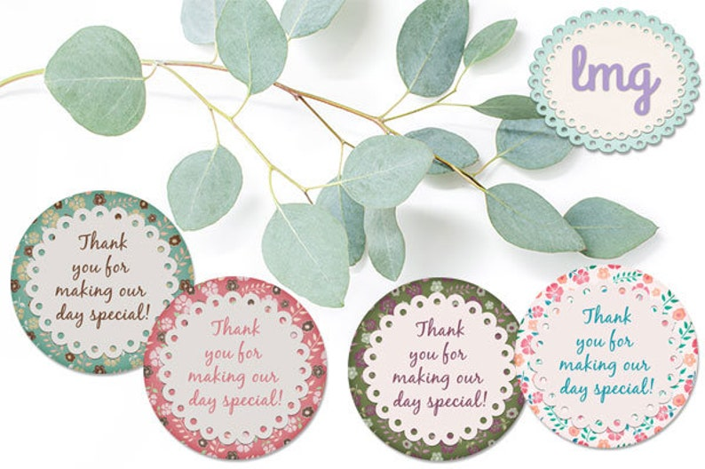 photo regarding Printable Round Tags identified as Printable Traditional Spherical Tags, Get together Tags, Cake Toppers, Cupcake Toppers, Reward Tags, Basic Stickers, Floral Tags, Fast Down load Tags