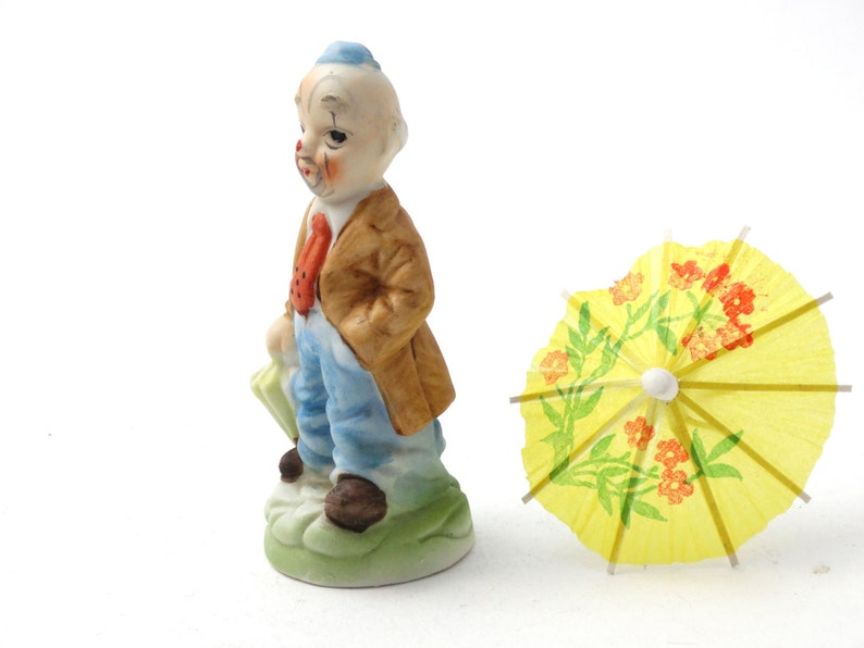 8145264744184 Ceramic clown figurine - Funny man figurine - Clown decor - Circus decor -  Ceramic figurine - Collectible figurine
