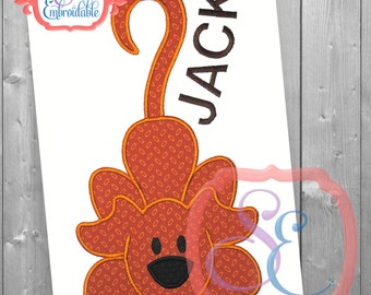 Rufus the Dog Applique Design For Machine Embroidery INSTANT DOWNLOAD