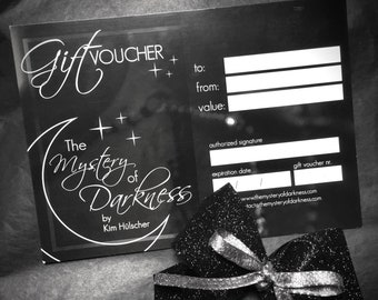 Voucher card for The Mystery of Darkness