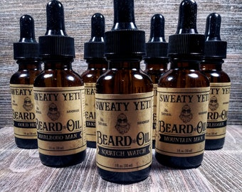 SWEATY YETI Beard Oil