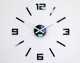 Wand Uhr, Große Wanduhr, Numero Arabisch, Wanddekoration Uhren DIY