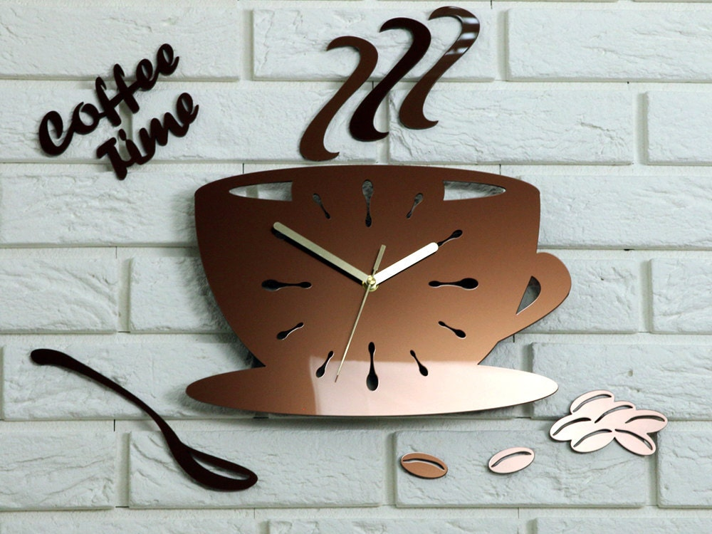 Merveilleux Large Wall Clock To Kitchen Watch Modern Clock Metalic Copper Gift Wall  Decoration Unique Wall Clocks Wedding Gift