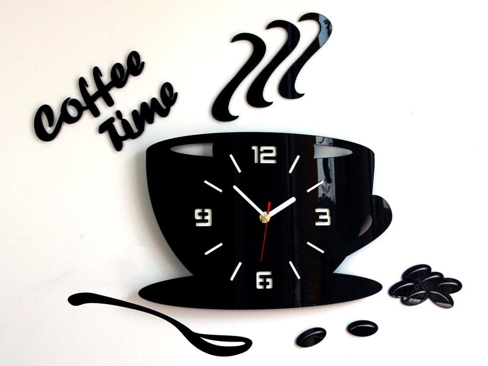 large wall clock, modern clock, wall clock, kitchen clock