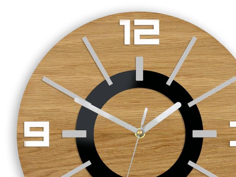 Große Holz Wanduhr Eiche 13 19 Zoll Geschenk