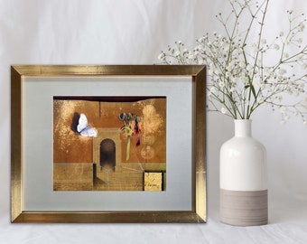 On The Threshold Oil Painting Giclée