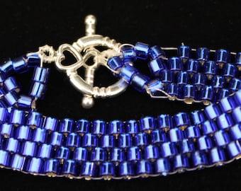 Peyote-stitch Bracelet