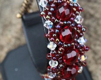 Crystal Parisian Light - Garnet