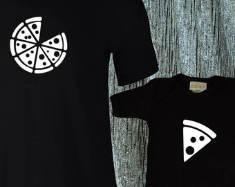 5cb549f69 Dad & Baby Matching Shirts / Pizza Matching Shirts / T-shirt and jumper for  Dad and Baby Pizza and Pizza Slice / Father's Day / Birthday