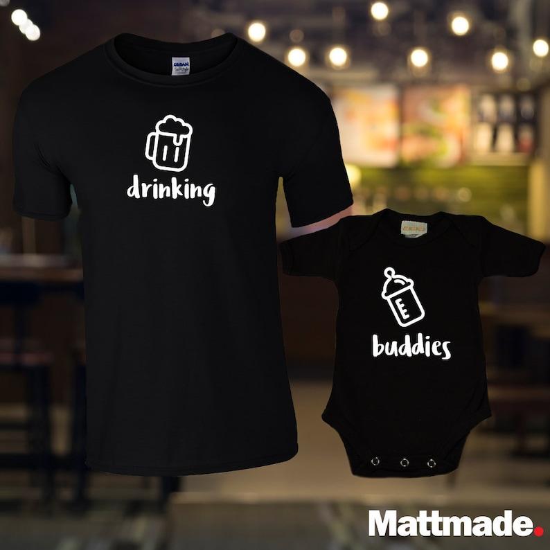 5a719735 Drinking Buddies Matching Family Shirt Set / Matching Baby   Etsy