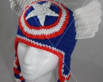 41fca2f7dc86e Captain america hat