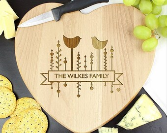 Melamine Board Bird Gift Country Kitchen Woodland Animal Decor Robin Chopping Board Bird Tableware