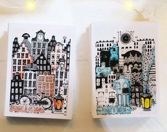 "Postcard ""Midnight in"""