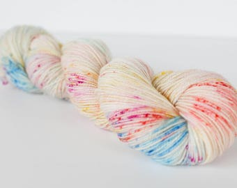 Pop-Tarts - Gilmore Girls Inspired - Hand Dyed Fingering Weight Yarn