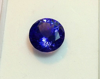 Tanzanite Gemstone 6.60ct. 11.6mm. Round