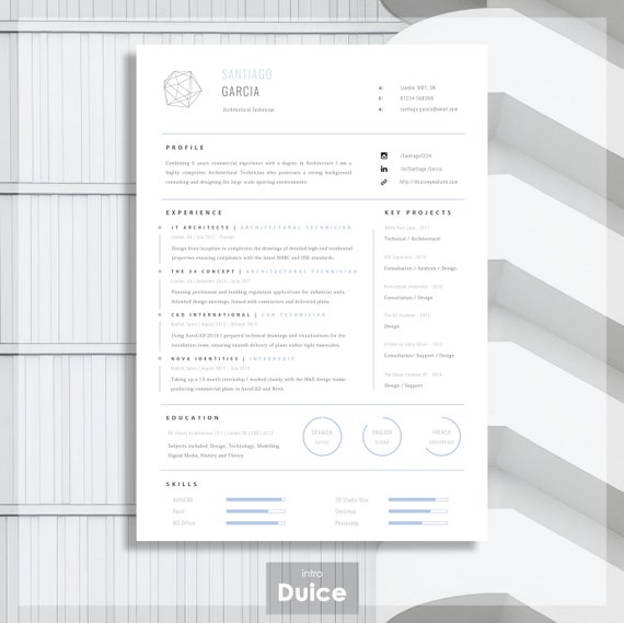 resume template for word printable cv for word