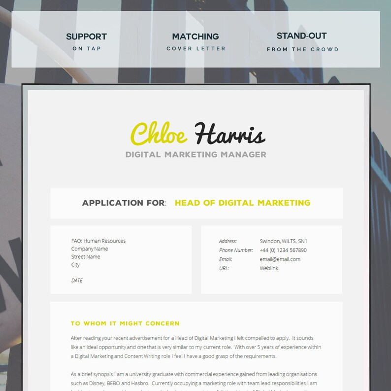 Printable Cover Letter For Resume Primary Portraits Useful