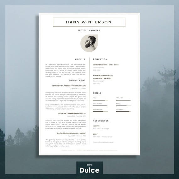 cv template r u00e9sum u00e9 template for word cover letter advice