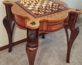 Chess/Checkers Game Table