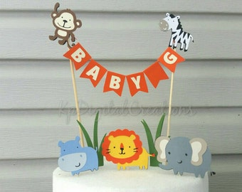 Zoo Cake Topper Etsy