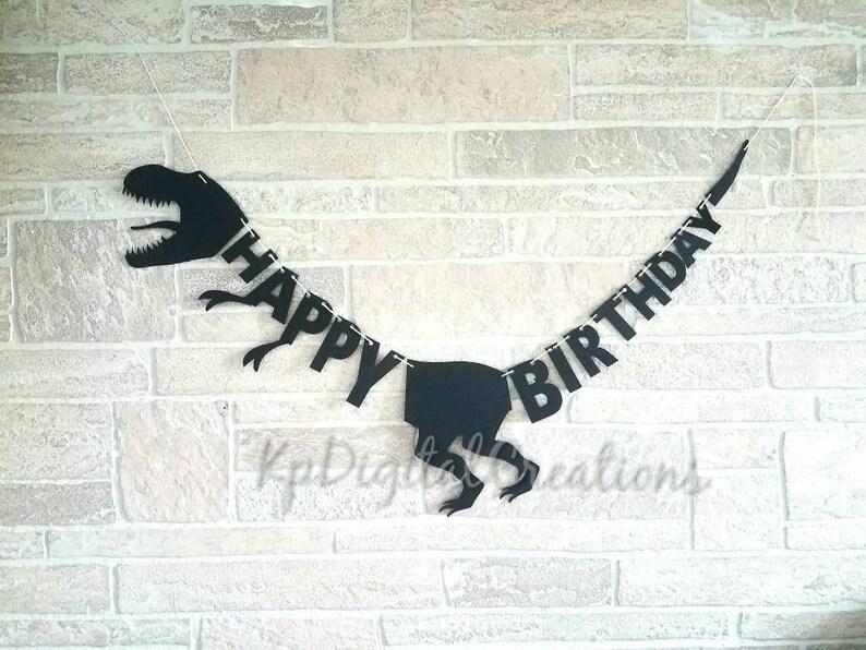 12 month dinosaur banner Dinosaur first year photo banner
