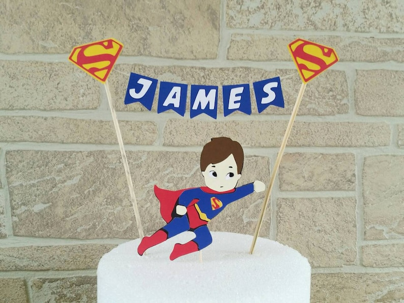 Superman Cake Topper Justice League