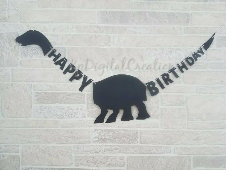 Dinosaur 1st birthday banner Jurassic Park Dinosaur birthday Dinosaur party Dinosaur first birthday banner Dinosaur birthday banner