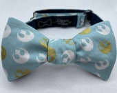 Bow Tie made from Star Wars fabric, Self Tie, Pre Tied, Bowtie, Rebels, Imperial, X Wing, Tie Fighter, Force, Mando, Dapper On Arrival