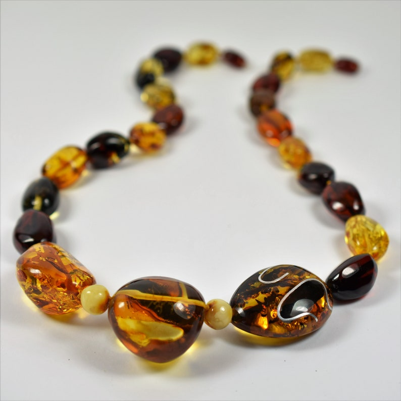 Amber necklace for women genuine Baltic amber adult necklace adult amber necklace Baltic amber amber jewelry for Women