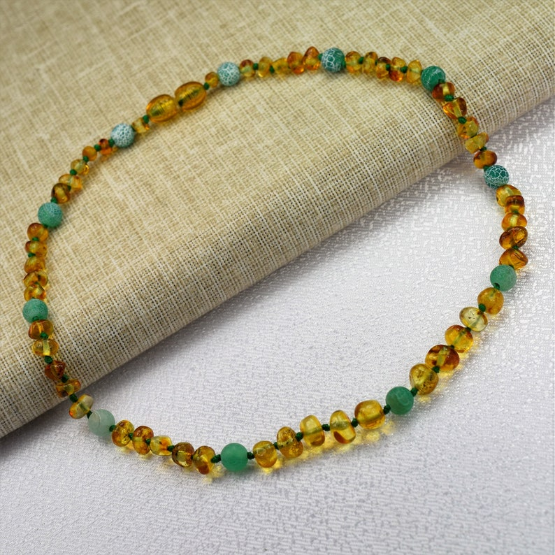 Baltic amber teething necklace Amber teething necklace Amber necklace Baltic Amber Baby Necklace Baby amber bracelet Baltic amber